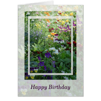 Birthday Bouquet Cards