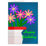 Birthday Bouquet Greeting Cards
