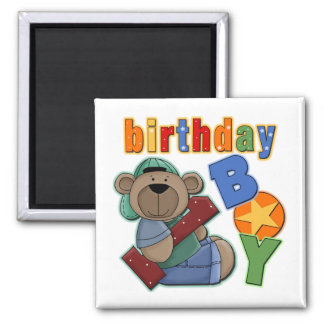 Birthday Boy 1st Birthday Magnet