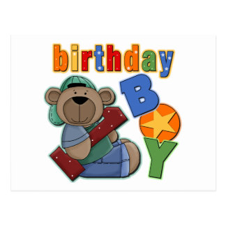 Birthday Boy 1st Birthday Postcards