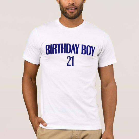 Birthday Boy 21 T-Shirt