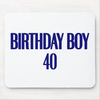Birthday Boy 40 Mouse Pad