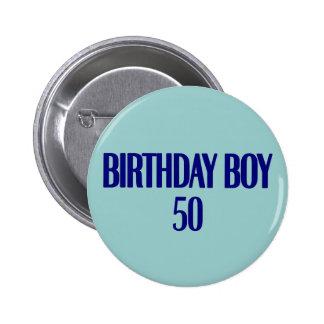 Birthday Boy 50 Pin