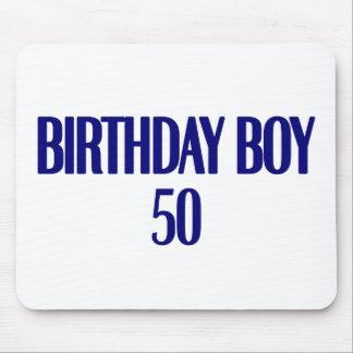 Birthday Boy 50 Mouse Pad