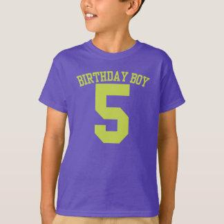 BIRTHDAY Boy #5 GRAPHIC Tee