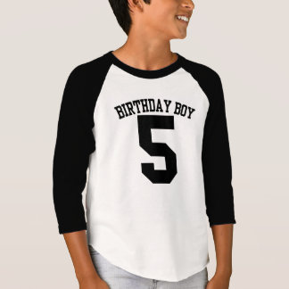 BIRTHDAY Boy #5 GRAPHIC Tee