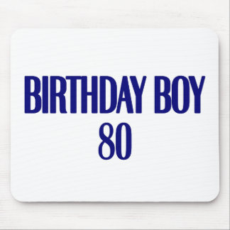 Birthday Boy 80 Mouse Pad