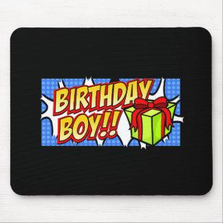 Birthday Boy Banner Mouse Pad