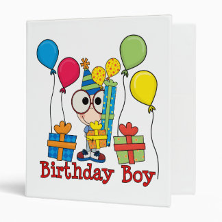Birthday Boy Binder