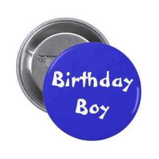 Birthday Boy Pinback Buttons