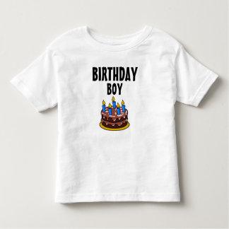 Birthday Boy Cake Toddler T-shirt