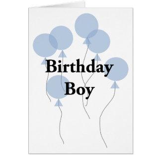 Birthday Boy Card