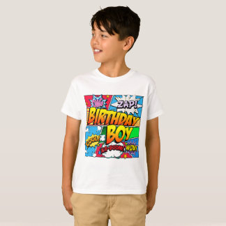 Birthday Boy Comic Book T-Shirt