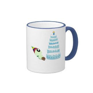 Birthday Boy Cthulhu Ringer Coffee Mug