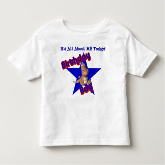 Birthday Boy Dinosaur All About Me T-Shirt