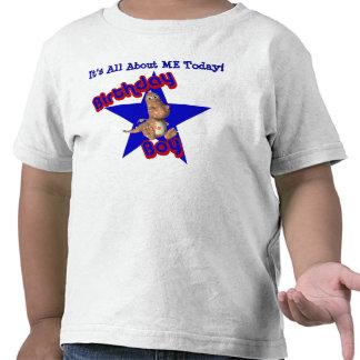 Birthday Boy Dinosaur All About Me T-Shirt