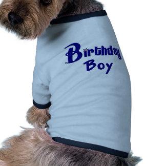 Birthday Boy Doggie Tee Shirt