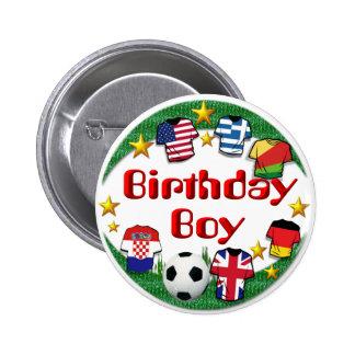 Birthday Boy (Football) ~ Button