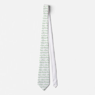 Birthday Boy Green Stars Neck Tie