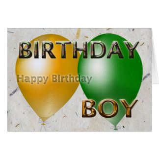 Birthday Boy Happy Birthday From All Of Us Card