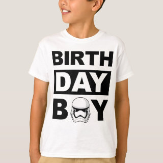 Birthday Boy | Imperial Stormtrooper - Name & Age T-Shirt