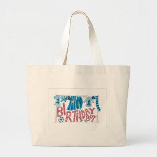Birthday Boy Large Tote Bag