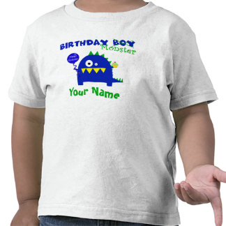 Birthday Boy Monster Shirt