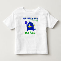 Birthday Boy Monster Toddler T-shirt