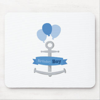Birthday Boy Mouse Pads