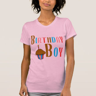 Birthday Boy Multicolored Products T-Shirt