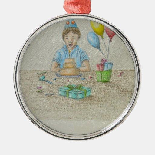Birthday Boy Christmas Ornament
