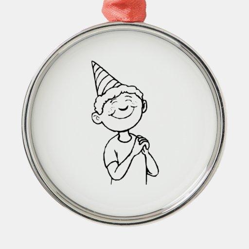 Birthday Boy Ornaments
