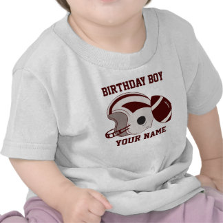 Birthday Boy Personalized Football Shirt