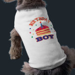 """Birthday Boy Pet Clothing<br><div class=""""desc"""">Cute &quot;Birthday Boy&quot; pet clothing to celebrate another year of your best friend.</div>"""