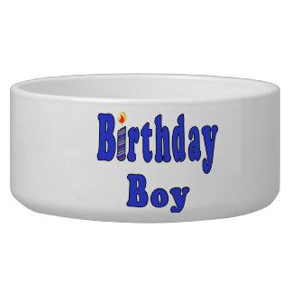 Birthday Boy Pet Food Bowls