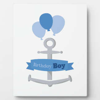 Birthday Boy Photo Plaque
