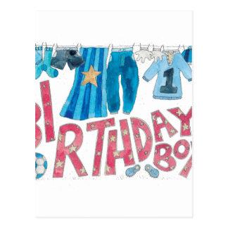 Birthday Boy Postcard