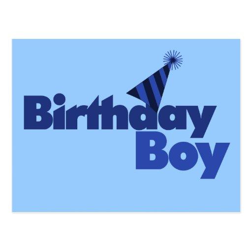 Birthday BOY Postcards
