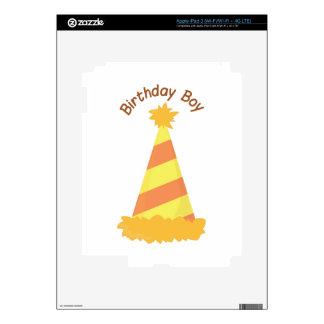 Birthday Boy iPad 3 Skin