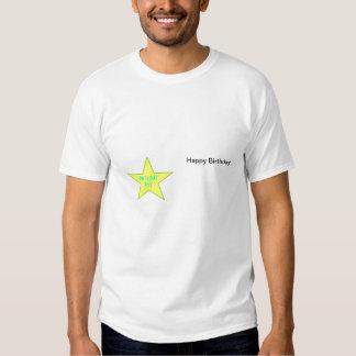 Birthday Boy Template 2 T-Shirt