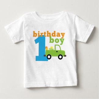 Birthday Boy Truck 1 Baby T-Shirt