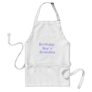 Birthday Boy's Grandma Adult Apron