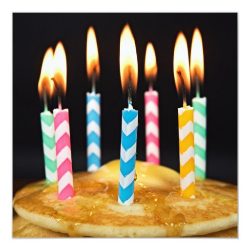Birthday Breakfast Brunch Invitation | Zazzle