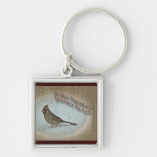 Birthday Brother-in-Law Cardinal Female Key Chains