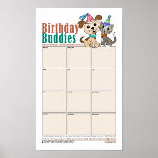 Birthday Buddies (Bowwow and MeeYow) SnapSheet Poster