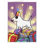 Birthday Bull Terrier Cards