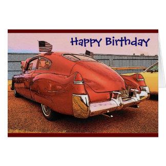 Birthday (Caddy) Card