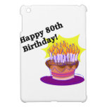 Birthday Cake 80th iPad Mini Cover