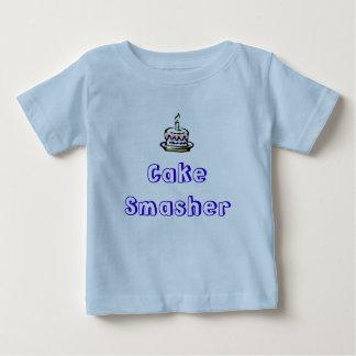 birthday-cake, Cake Smasher Baby T-Shirt