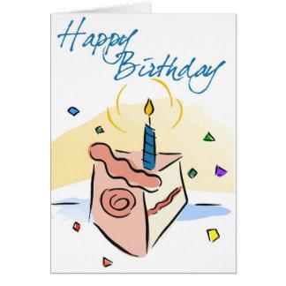 Birthday cake Childs BIrthday Card